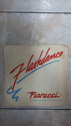 flashdance - fiorucci - vinilo simple