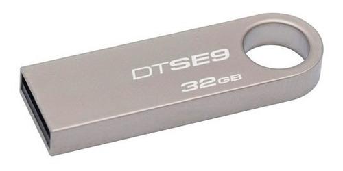 flashmemory pendrive kingston 32gb metalico dtse9