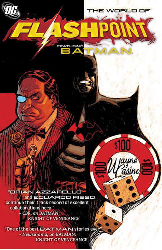 flashpoint the world featuring batman tpb inglés azzarello