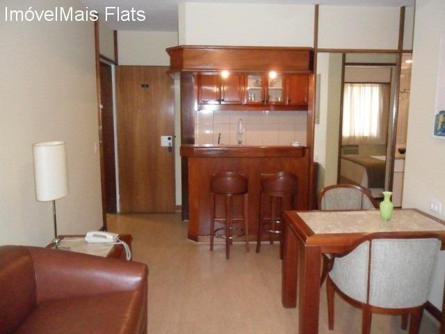 flat 01 dorm mobiliado, com serviços no itaim! - ap00285 - 32624526