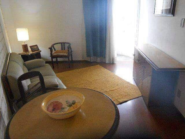 flat 1 dormitório ( reformado e mobiliado com serviços ) à venda, 37,00 m² por r$ 220.000 - chácara inglesa - são bernardo do campo/sp - fl0002