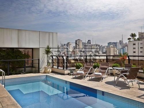 flat 21 century para locação e venda no jardins fora do pool - ref3471
