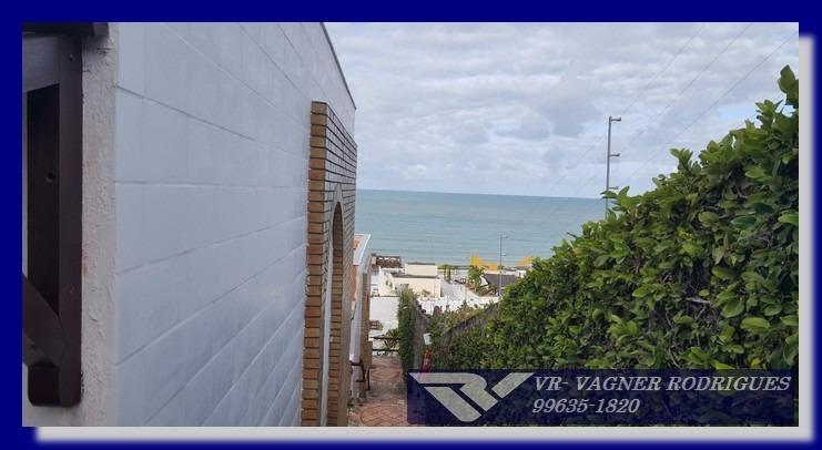 flat 58m² duplex com belíssima vista de ponta negra