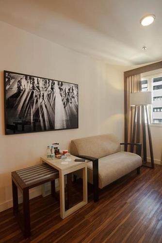 flat a um quarteirão do metro trianon na paulista flat no jardins  - sf512