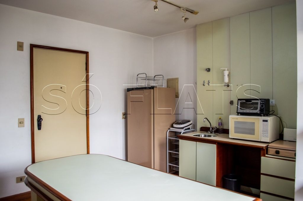 flat a venda no jardins 1 dormitório 36,56m²  - sf9