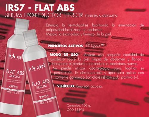 flat abs serum lipo reductor irs 7 idraet