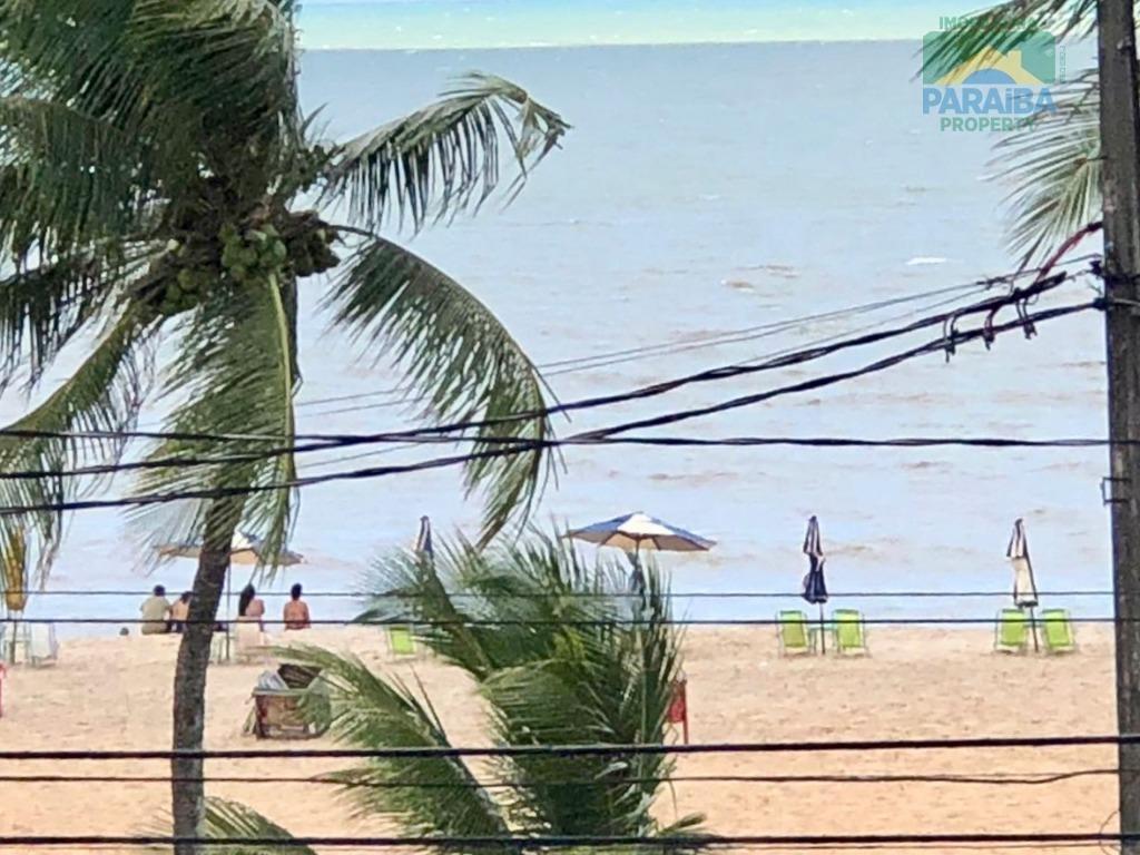flat beiramar mobiliado para venda e locação -  praia do cabo branco -  joão pessoa - pb - fl0057