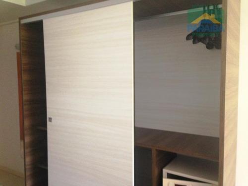 flat beiramar mobiliado à venda - praia de cabo branco - joão pessoa - pb - fl0058