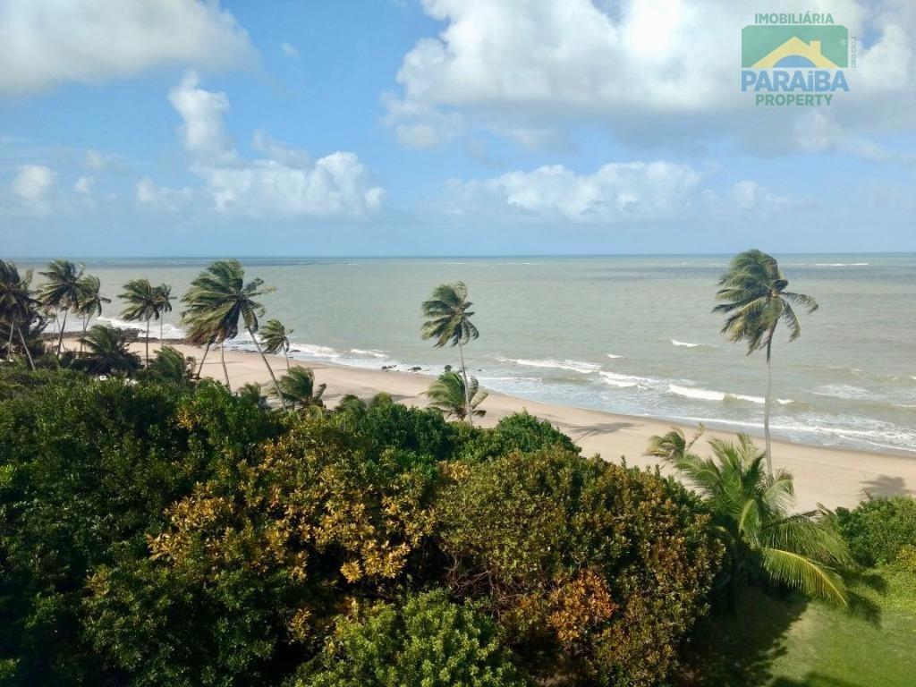 flat beiramar para venda ou locação mobiliado - praia de carapibus - conde - litoral sul - pb - fl0059