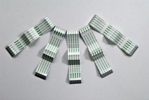 flat cable 9cm , 20 vias 1mm - kit 8 pçs