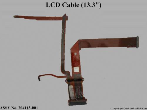 flat cable lcd notebook armada 7400