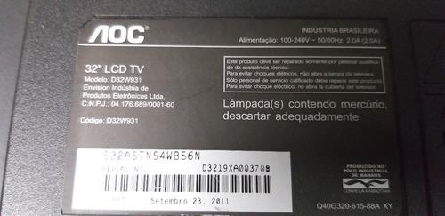 flat cable lvds aoc d32w931