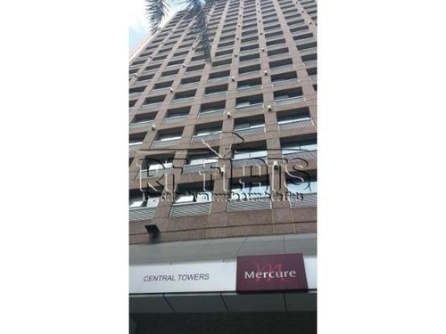flat central towers para locação na liberdade