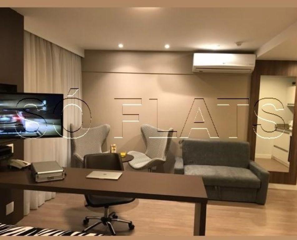 flat com 02 dorms em moema, prox a av. ibirapuera, shop ibirapuera e estação moema do metrô - sf29773