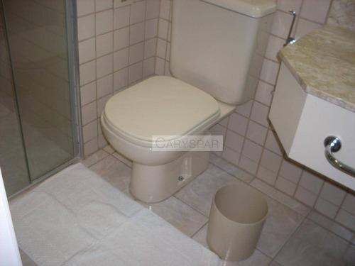 flat com 1 dormitório, 1 vaga e 30m² para locação na chácara santo antonio - fl2031
