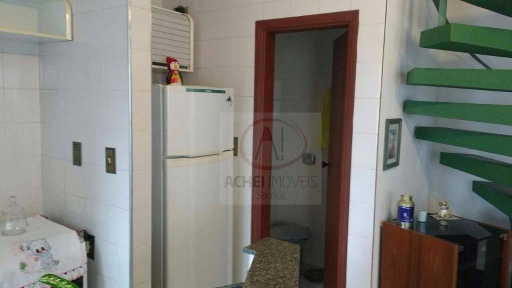 flat com 1 dormitório, 84 m² - venda por r$ 467.000,00 ou aluguel por r$ 2.900,00/mês - ponta da praia - santos/sp - fl0020