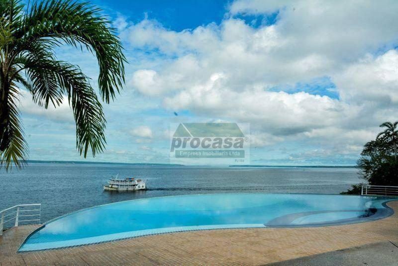 flat com 1 dormitório para alugar, 35 m² por r$ 2.000,00/mês - ponta negra - manaus/am - fl0011