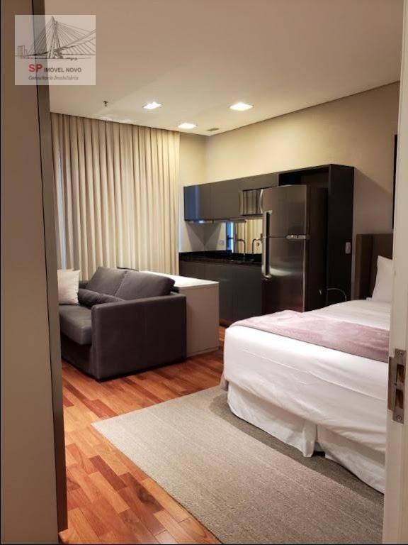 flat com 1 dormitório para alugar, 35 m² por r$ 5.800,00 - vila olímpia - são paulo/sp - fl0043