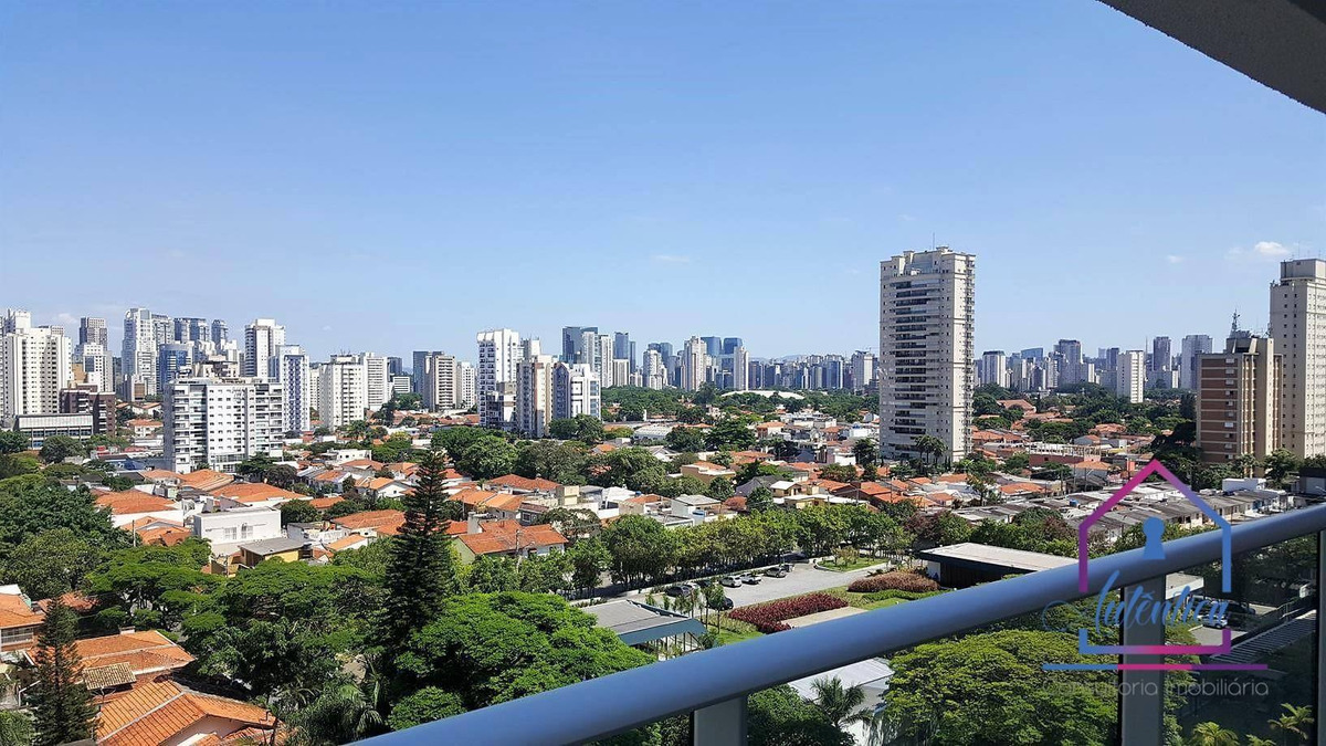 flat com 1 dormitório para alugar, 47 m² por r$ 3.100/mês - brooklin paulista - são paulo/sp - fl0003