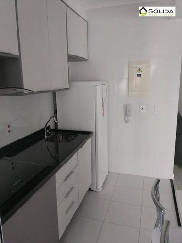 flat com 1 dormitório para alugar, 48 m² por r$ 1.500/mês - vila arens i - jundiaí/sp - fl0006