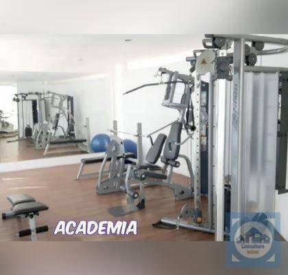 flat com 1 dormitório para alugar, 76 m² por r$ 3.300/mês - gonzaga - santos/sp - fl0045