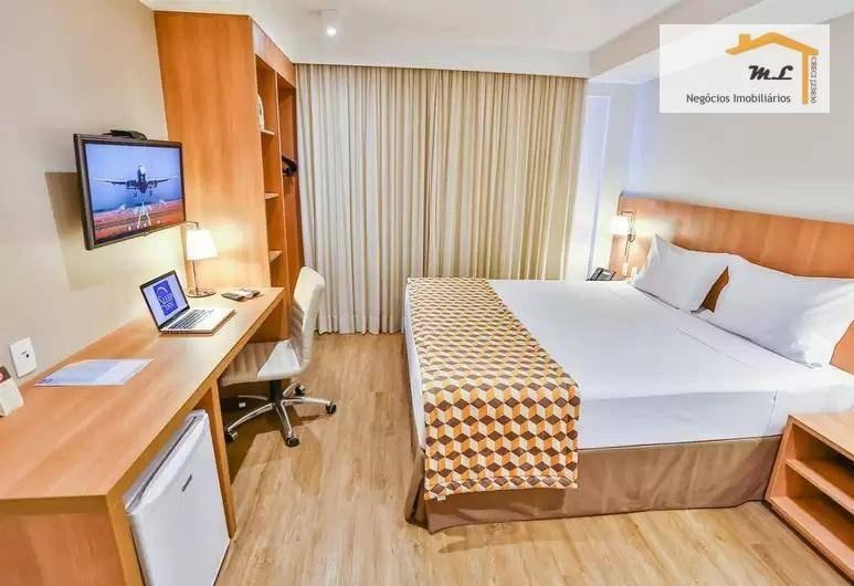 flat com 1 dormitório à venda, 22 m² por r$ 260.000,00 - jardim são geraldo - guarulhos/sp - fl0001