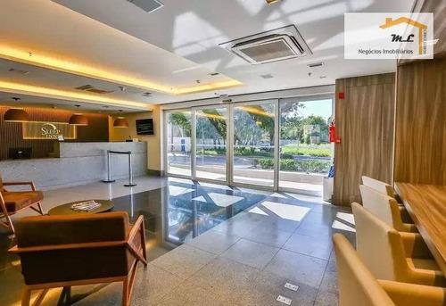 flat com 1 dormitório à venda, 22 m² por r$ 380.000 - jardim são geraldo - guarulhos/sp - fl0001