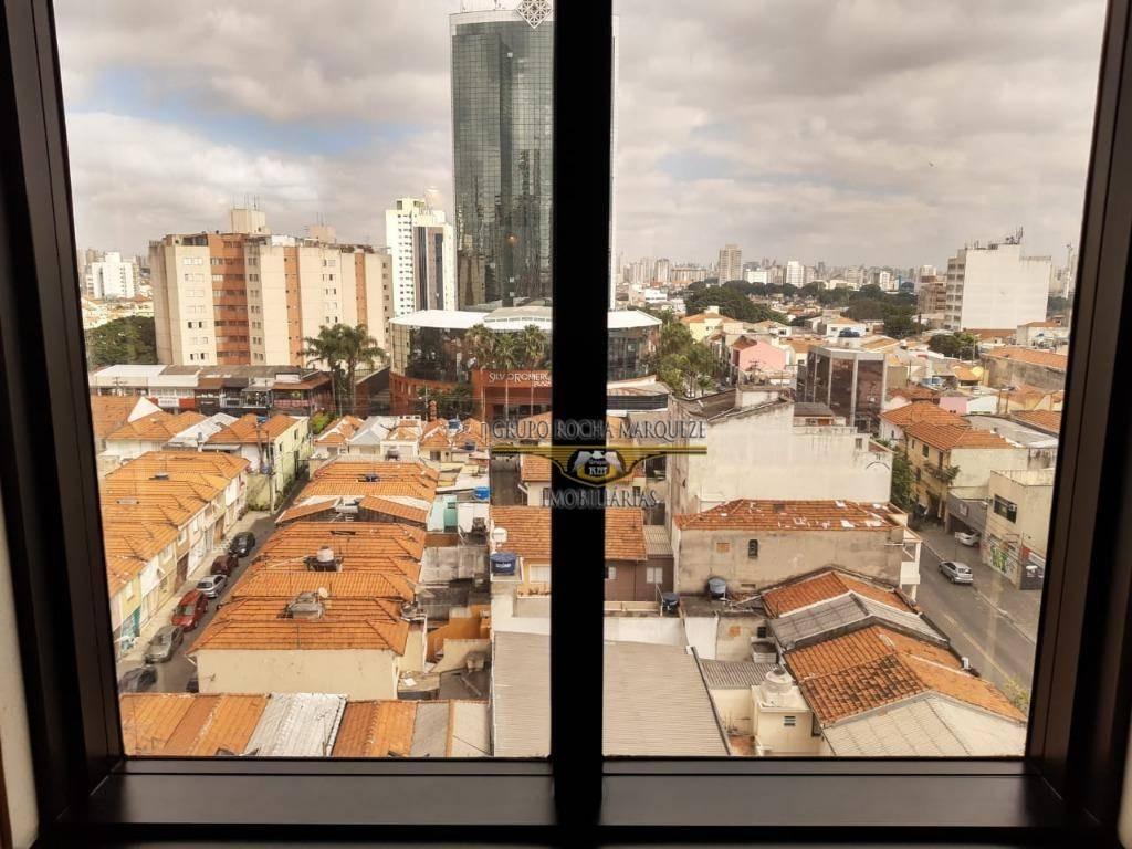 flat com 1 dormitório à venda, 29 m² por r$ 162.000,00 - tatuapé - são paulo/sp - fl0003