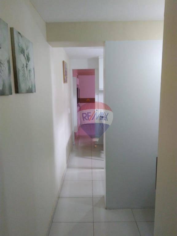 flat com 1 dormitório à venda, 36 m² por r$ 270.000 - boa viagem - recife/pe - fl0085