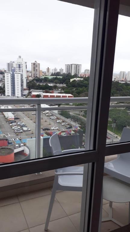 flat com 1 dormitório à venda, 38 m² - centro - são bernardo do campo/sp - fl0136