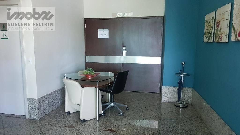 flat com 1 dormitório à venda, 38 m² por r$ 398.000,00 - praia do canto - vitória/es - fl0001