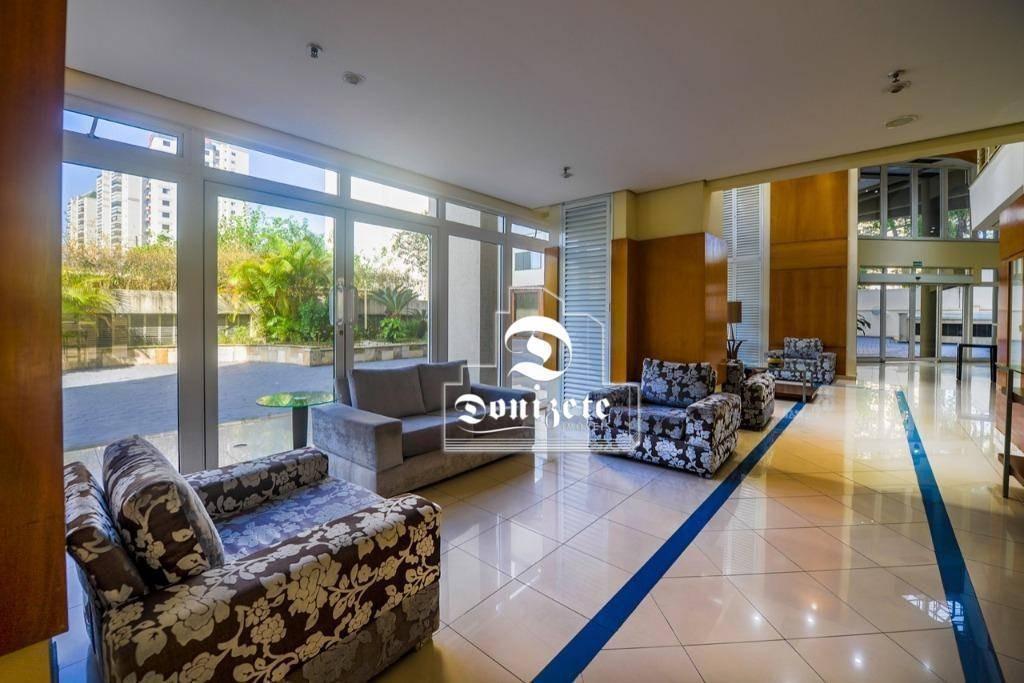 flat com 1 dormitório à venda, 43 m² por r$ 150.000,00 - vila bastos - santo andré/sp - fl0041