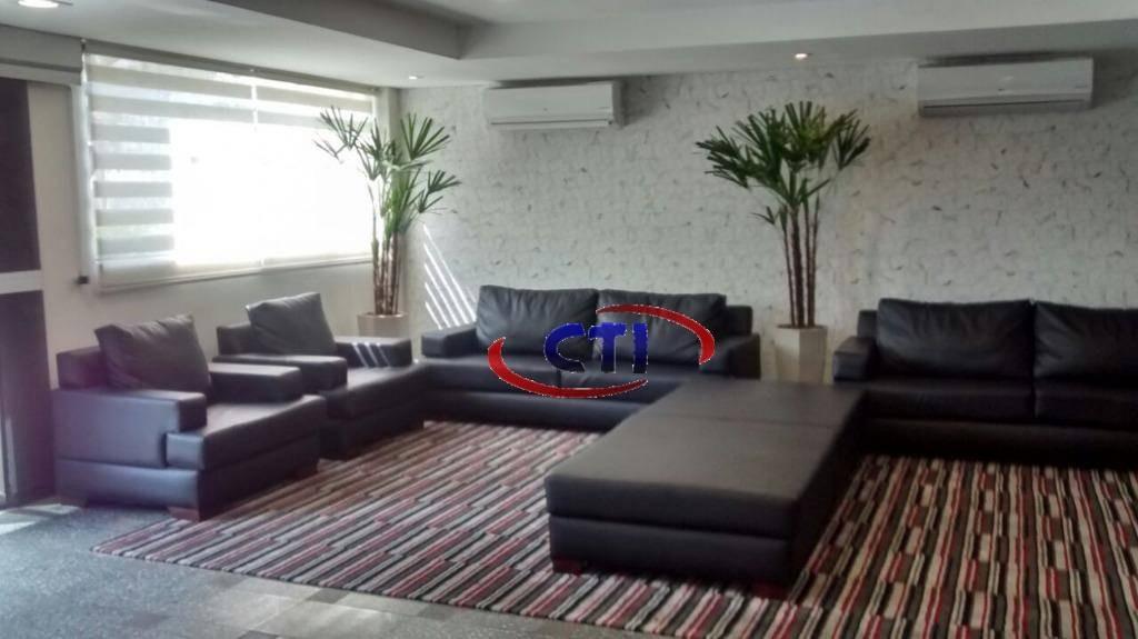 flat com 1 dormitório à venda, 52 m² por r$ 240.000 - centro - são bernardo do campo/sp - fl0003