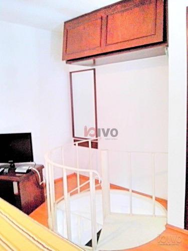 flat com 1 dormitório à venda, 52 m² por r$ 540.000 - moema - são paulo/sp - fl0003