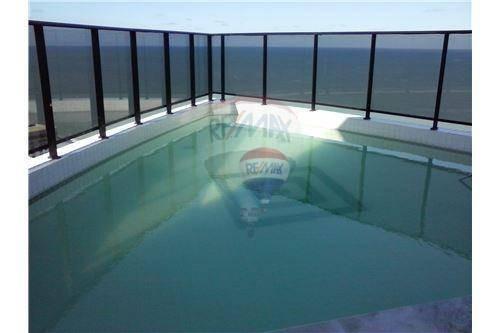 flat com 2 dormitórios para alugar, 52 m² por r$ 3.200/mês - boa viagem - recife/pe - fl0031