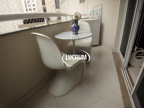 flat com 2 dormitórios à venda, 60 m² por r$ 1.200.000 - botafogo - rio de janeiro/rj - fl0034