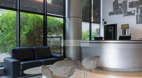 flat com excelente estrutura e localização no jardim paulista r$ 270.000 - fl3899
