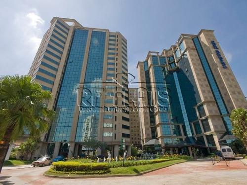 flat corporate plaza para locação em moema - ref96