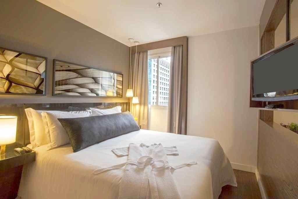 flat de 02 dormitórios nos jardins, 01 quarteirão da av. paulista - sf27643