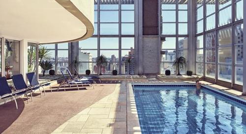 flat em campinas no pool - sf10008