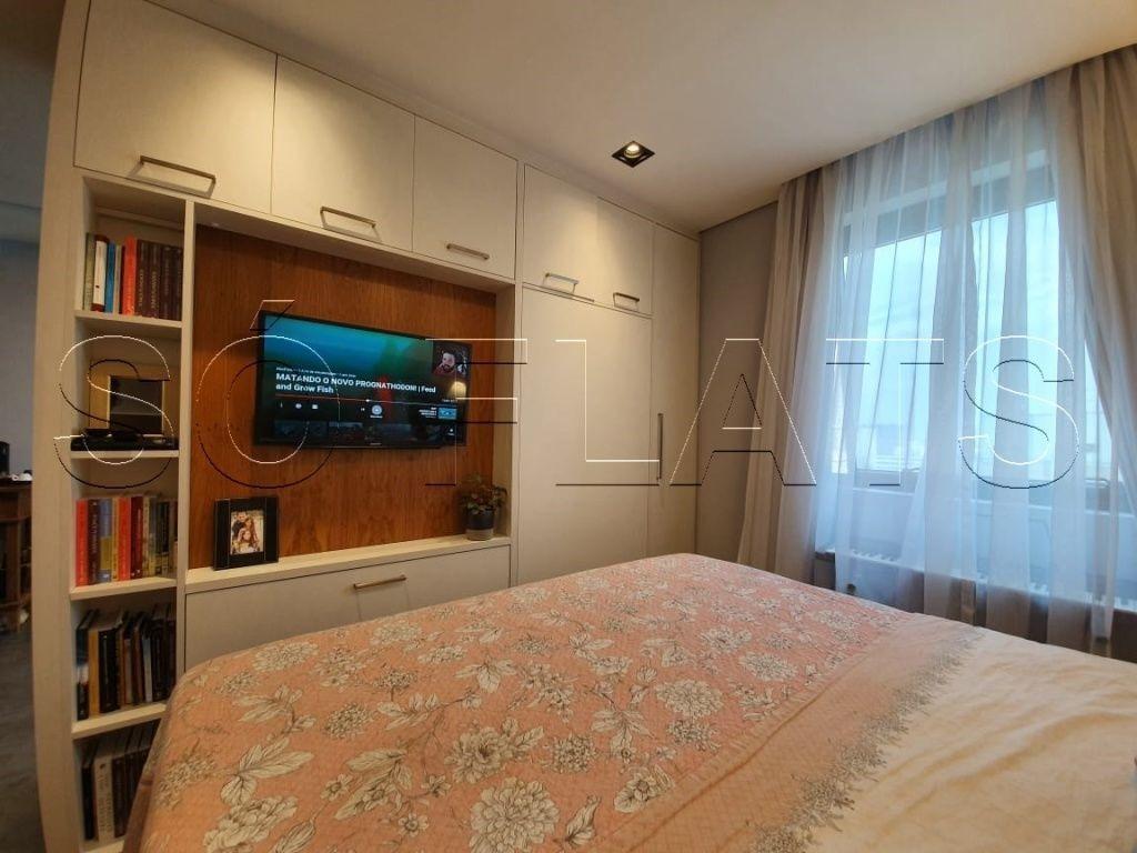 flat em higienopolis, prox a av. angelica e rua da consolação, 2dt - sf29865