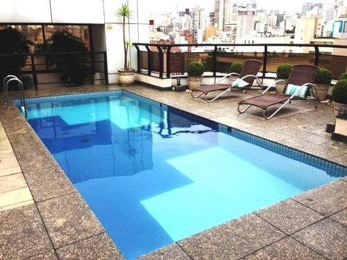 flat em jardim paulista, são paulo/sp de 30m² 1 quartos para locação r$ 3.700,00/mes - fl14053