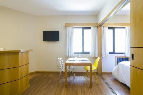flat em jardins a venda 1 dorm 33m² - sf3961