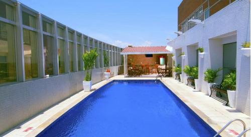 flat em manaus no pool para investimento - sf11235