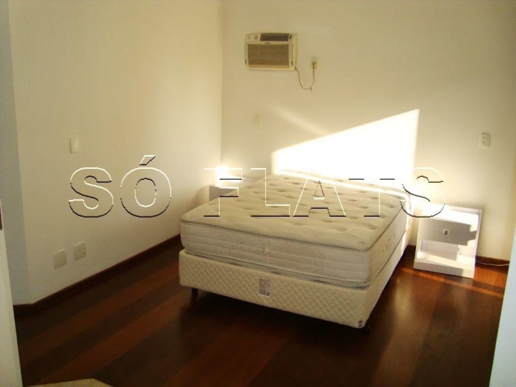 flat em moema cobertura 4 dorms excelente localização sem mobilia - sf23719