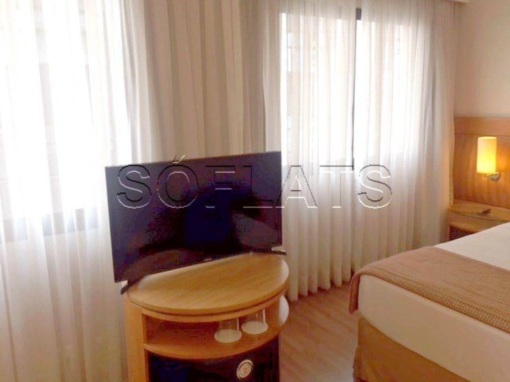 flat em moema com excelentes instalações - sf23820