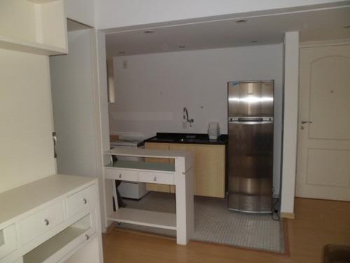 flat em morumbi, sao paulo/sp de 34m² 1 quartos para locação r$ 1.409,00/mes - fl74990