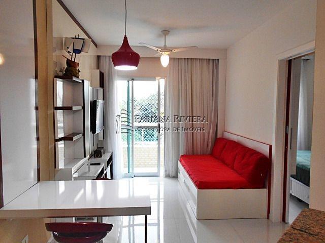 flat em riviera - 1 dormitório - 200 metros do mar