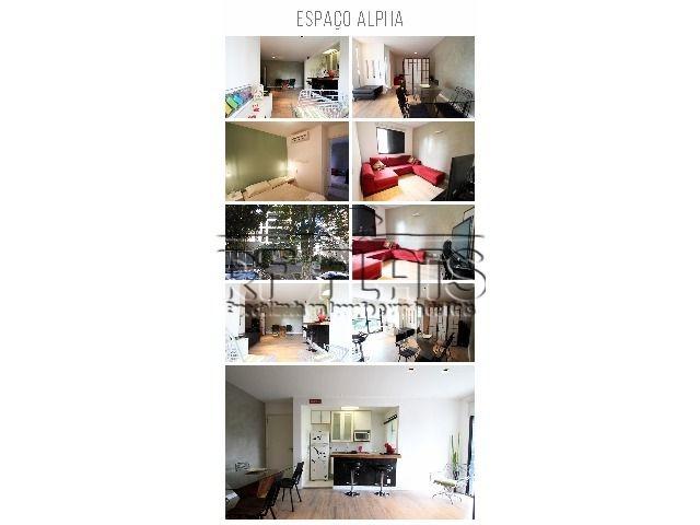 flat espaço alpha para locação na vila nova conceição - fla3859