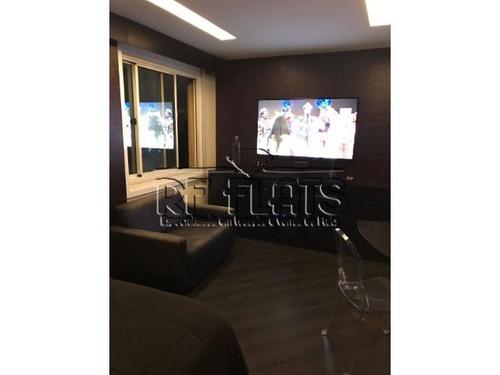 flat executive one para locação na vila olimpia - ref2654